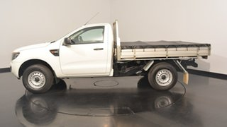 2014 Ford Ranger PX XL Double Cab Cool White 6 Speed Manual Cab Chassis.