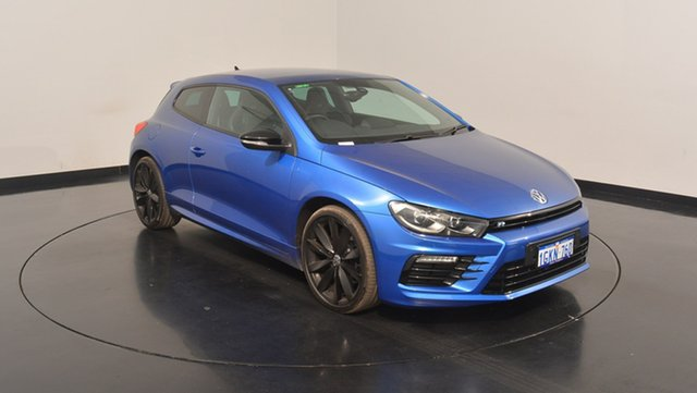 Used Volkswagen Scirocco 1S MY17 R Coupe DSG Wolfsburg Edition, 2016 Volkswagen Scirocco 1S MY17 R Coupe DSG Wolfsburg Edition Blue Metallic 6 Speed