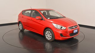 2016 Hyundai Accent RB4 MY17 Active Veloster Red 6 Speed Constant Variable Hatchback
