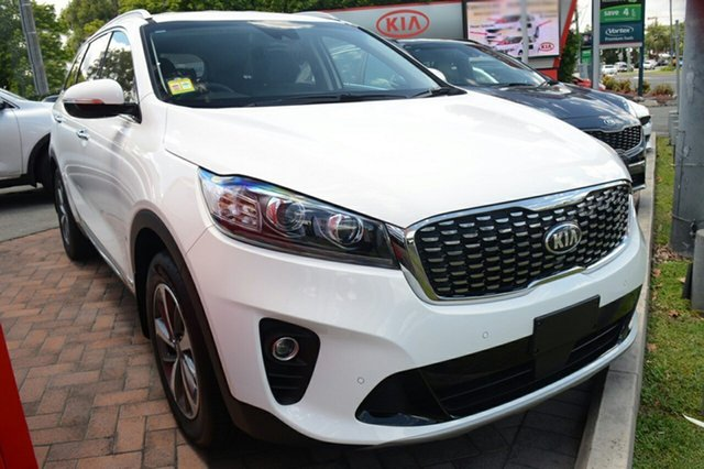 New Kia Sorento UM MY18 SLi AWD, 2018 Kia Sorento UM MY18 SLi AWD Clear White 8 Speed Sports Automatic Wagon
