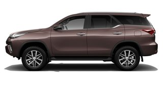 2018 Toyota Fortuner GUN156R Crusade Phantom Brown 6 Speed Automatic Wagon