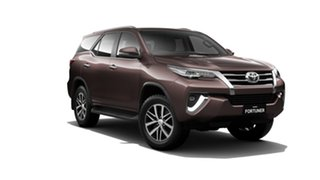 2018 Toyota Fortuner GUN156R Crusade Phantom Brown 6 Speed Automatic Wagon.