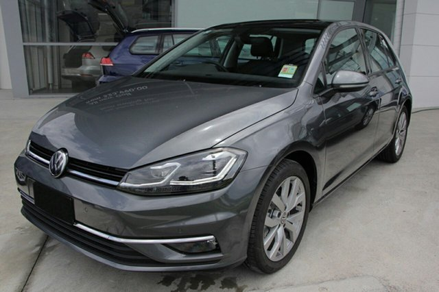 New Volkswagen Golf 7.5 MY18 110TDI DSG Highline, 2018 Volkswagen Golf 7.5 MY18 110TDI DSG Highline Indium Grey 7 Speed Sports Automatic Dual Clutch