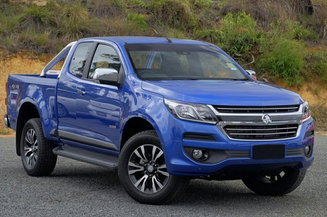 New Holden Colorado RG MY19 LTZ Pickup Space Cab, 2019 Holden Colorado RG MY19 LTZ Pickup Space Cab Power Blue 6 Speed Sports Automatic Utility
