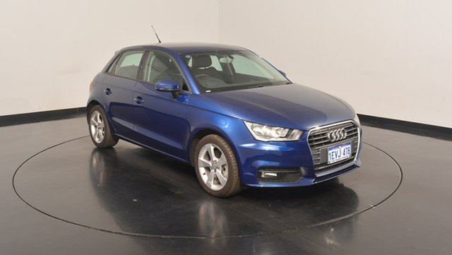 Used Audi A1 8X MY15 Sport Sportback S tronic, 2015 Audi A1 8X MY15 Sport Sportback S tronic Blue 7 Speed Sports Automatic Dual Clutch Hatchback