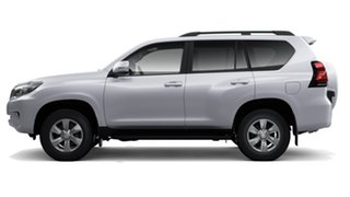 2019 Toyota Landcruiser Prado GDJ150R GXL Silver Pearl 6 Speed Sports Automatic Wagon