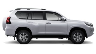 2019 Toyota Landcruiser Prado GDJ150R GXL Silver Pearl 6 Speed Sports Automatic Wagon.