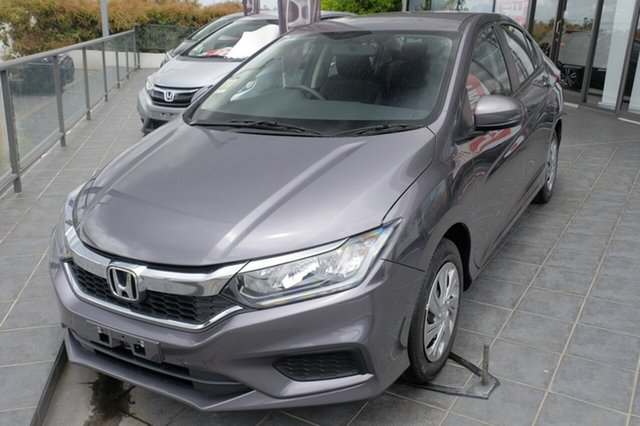 New Honda City GM MY20 VTi, 2019 Honda City GM MY20 VTi Modern Steel 1 Speed Constant Variable Sedan