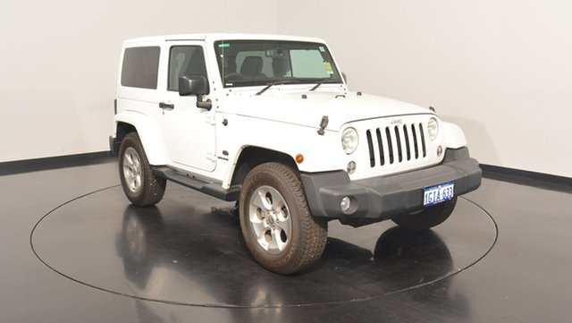 Used Jeep Wrangler JK MY17 Overland, 2017 Jeep Wrangler JK MY17 Overland Bright White 5 Speed Automatic Hardtop