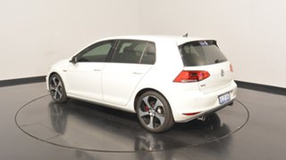 2017 Volkswagen Golf VII MY17 GTi Pure White 6 Speed Manual Hatchback.