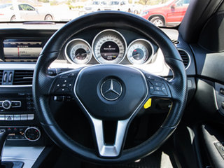 2013 Mercedes-Benz C250 C204 MY13 7G-Tronic + Black 7 Speed Sports Automatic Coupe