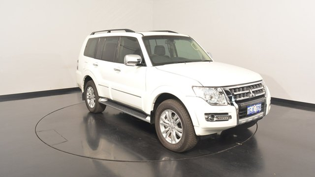 Used Mitsubishi Pajero NX MY17 Exceed, 2017 Mitsubishi Pajero NX MY17 Exceed White 5 Speed Sports Automatic Wagon
