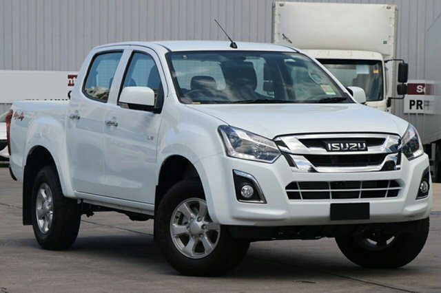 New Isuzu D-MAX MY18 LS-M Crew Cab, 2018 Isuzu D-MAX MY18 LS-M Crew Cab Splash White 6 Speed Sports Automatic Utility