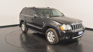2009 Jeep Grand Cherokee WH MY2009 Limited Black 5 Speed Automatic Wagon.