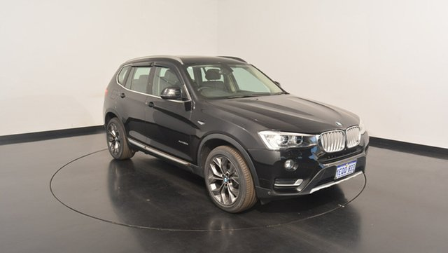 Used BMW X3 F25 LCI MY0414 xDrive30d Steptronic, 2014 BMW X3 F25 LCI MY0414 xDrive30d Steptronic Black 8 Speed Sports Automatic Wagon