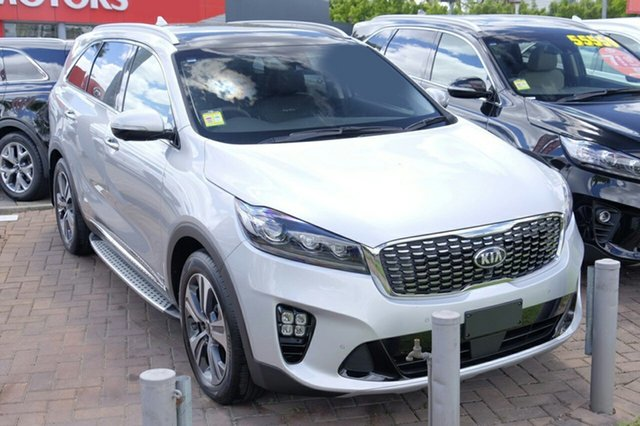 New Kia Sorento UM MY18 GT-Line AWD, 2018 Kia Sorento UM MY18 GT-Line AWD Silky Silver 8 Speed Sports Automatic Wagon