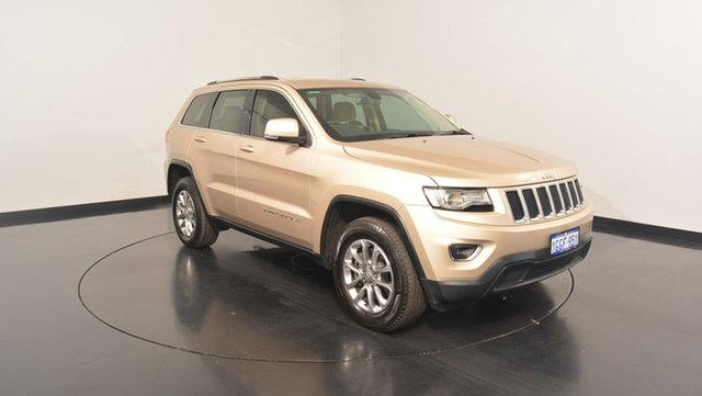 Used Jeep Grand Cherokee WK MY15 Laredo, 2016 Jeep Grand Cherokee WK MY15 Laredo Cashmere Pearl 8 Speed Sports Automatic Wagon