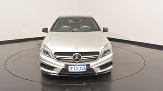 2013 Mercedes-Benz A45 W176 AMG SPEEDSHIFT DCT 4MATIC Silver 7 Speed Sports Automatic Dual Clutch