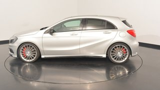 2013 Mercedes-Benz A45 W176 AMG SPEEDSHIFT DCT 4MATIC Silver 7 Speed Sports Automatic Dual Clutch.