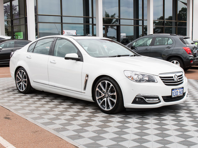 Used Holden Calais VF II MY16 V, 2015 Holden Calais VF II MY16 V White 6 Speed Sports Automatic Sedan
