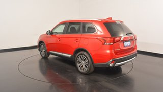2016 Mitsubishi Outlander ZK MY17 LS 2WD Red 6 Speed Constant Variable Wagon.