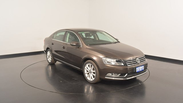 Used Volkswagen Passat Type 3C MY15 130TDI DSG Highline, 2015 Volkswagen Passat Type 3C MY15 130TDI DSG Highline Black 6 Speed Sports Automatic Dual Clutch
