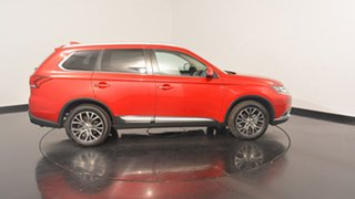 2016 Mitsubishi Outlander ZK MY17 LS 2WD Red 6 Speed Constant Variable Wagon