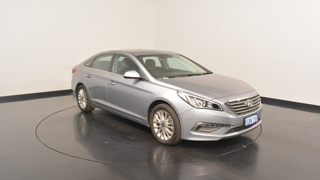 Used Hyundai Sonata LF3 MY17 Active, 2016 Hyundai Sonata LF3 MY17 Active Polished Metal 6 Speed Sports Automatic Sedan