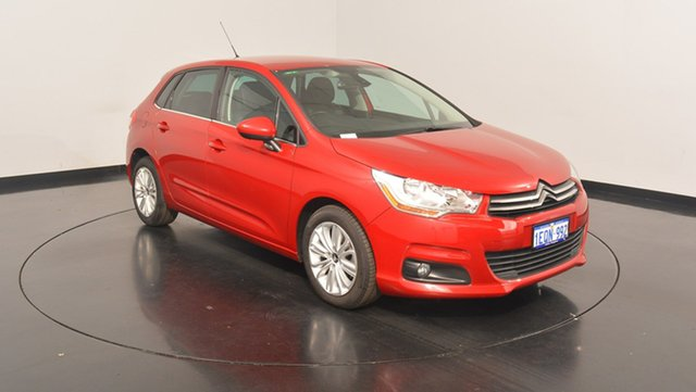 Used Citroen C4 B7 Seduction, 2014 Citroen C4 B7 Seduction Red 4 Speed Sports Automatic Hatchback