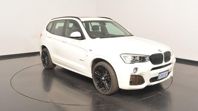 Used BMW X3 F25 LCI MY0414 xDrive30d Steptronic, 2015 BMW X3 F25 LCI MY0414 xDrive30d Steptronic Alpine White 8 Speed Sports Automatic Wagon