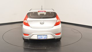 2016 Hyundai Accent RB4 MY17 Active Sleek Silver 6 Speed Constant Variable Hatchback