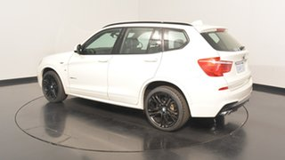 2015 BMW X3 F25 LCI MY0414 xDrive30d Steptronic Alpine White 8 Speed Sports Automatic Wagon.