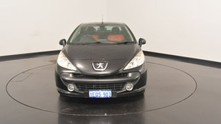 2007 Peugeot 207 A7 CC Black 5 Speed Manual Cabriolet