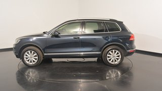 2017 Volkswagen Touareg 7P MY17 150TDI Tiptronic 4MOTION Moonlight Blue 8 Speed Sports Automatic.