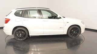 2015 BMW X3 F25 LCI MY0414 xDrive30d Steptronic Alpine White 8 Speed Sports Automatic Wagon