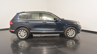 2017 Volkswagen Touareg 7P MY17 150TDI Tiptronic 4MOTION Moonlight Blue 8 Speed Sports Automatic