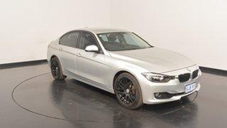 2012 BMW 320i F30 Silver 8 Speed Sports Automatic Sedan.