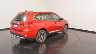 2016 Mitsubishi Outlander ZK MY17 LS 4WD Safety Pack Red 6 Speed Sports Automatic Wagon