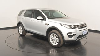 2015 Land Rover Discovery Sport L550 15MY Td4 SE Silver 9 Speed Sports Automatic Wagon