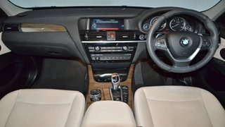 2015 BMW X3 F25 LCI MY0414 xDrive30d Steptronic Champagne 8 Speed Sports Automatic Wagon