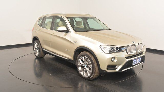 Used BMW X3 F25 LCI MY0414 xDrive30d Steptronic, 2015 BMW X3 F25 LCI MY0414 xDrive30d Steptronic Champagne 8 Speed Sports Automatic Wagon