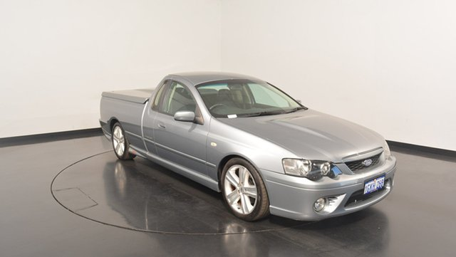 Used Ford Falcon BF XR8 Ute Super Cab, 2006 Ford Falcon BF XR8 Ute Super Cab Grey 6 Speed Sports Automatic Utility