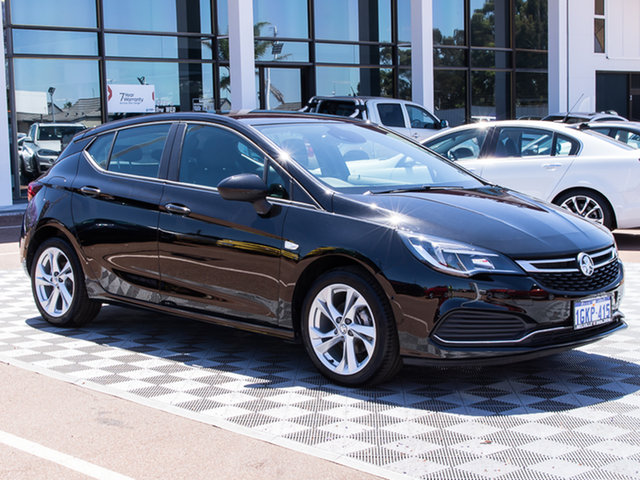 Used Holden Astra BK MY17 RS, 2017 Holden Astra BK MY17 RS Black 6 Speed Manual Hatchback
