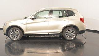 2015 BMW X3 F25 LCI MY0414 xDrive30d Steptronic Champagne 8 Speed Sports Automatic Wagon.