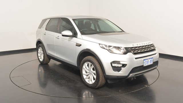 Used Land Rover Discovery Sport L550 15MY Td4 SE, 2015 Land Rover Discovery Sport L550 15MY Td4 SE Silver 9 Speed Sports Automatic Wagon