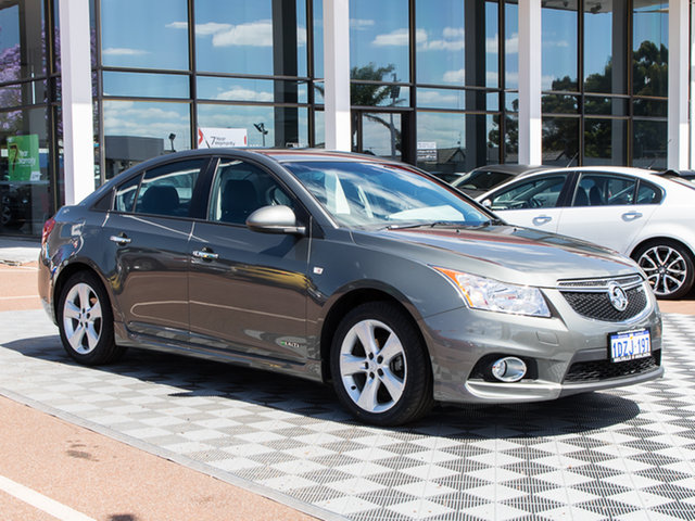 Used Holden Cruze JH Series II MY12 SRi-V, 2012 Holden Cruze JH Series II MY12 SRi-V Alto Grey 6 Speed Sports Automatic Sedan