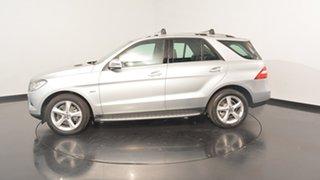 2012 Mercedes-Benz ML250 W166 BlueTEC 7G-Tronic + Silver 7 Speed Sports Automatic Wagon.