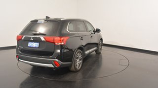 2016 Mitsubishi Outlander ZK MY17 LS 2WD Safety Pack Black 6 Speed Constant Variable Wagon