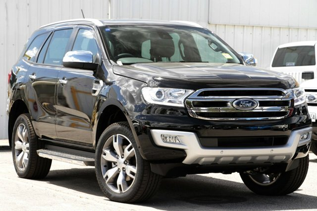 New Ford Everest UA MY18 Titanium, 2018 Ford Everest UA MY18 Titanium Shadow Black 6 Speed Sports Automatic Wagon