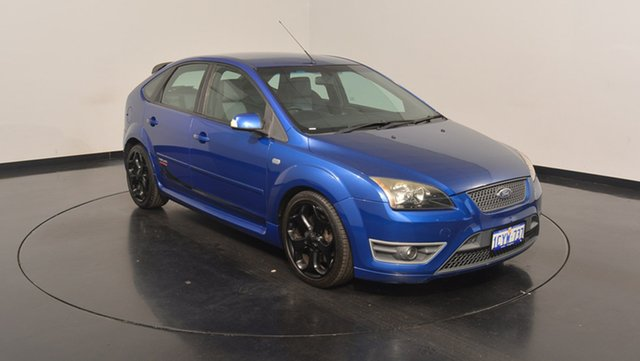 Used Ford Focus LS XR5 Turbo, 2007 Ford Focus LS XR5 Turbo Blue 6 Speed Manual Hatchback